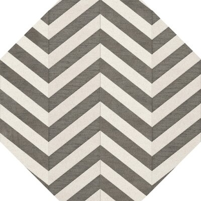 Shepardson Wool Quarry Area Rug Rug Size: Octagon 4
