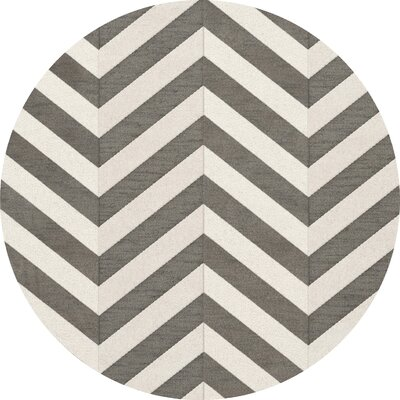 Shepardson Wool Quarry Area Rug Rug Size: Round 6