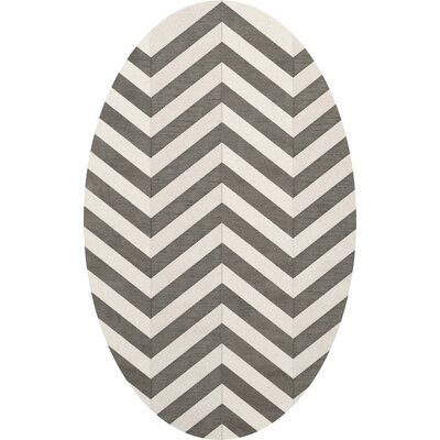 Shepardson Wool Quarry Area Rug Rug Size: Oval 12 x 18