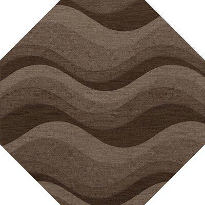 Haller Wool Chipmunk Area Rug Rug Size: Octagon 12