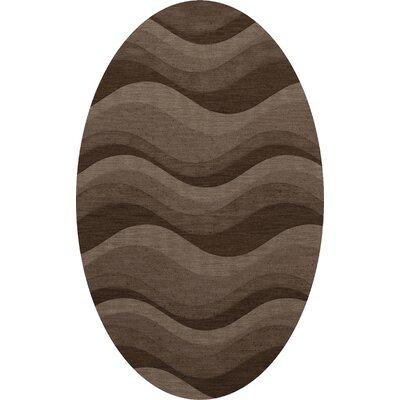 Haller Wool Chipmunk Area Rug Rug Size: Oval 9 x 12
