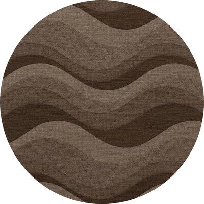 Haller Wool Chipmunk Area Rug Rug Size: Round 6