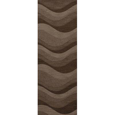 Haller Wool Chipmunk Area Rug Rug Size: Runner 26 x 8