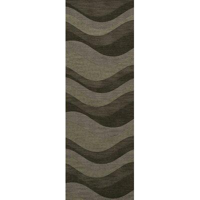 Hallett Wool Garden Area Rug Rug Size: Runner 26 x 10