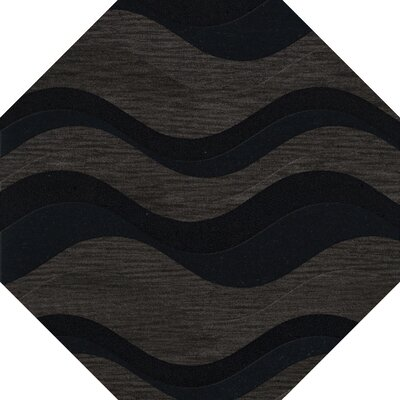 Hambrook Wool Shadow Area Rug Rug Size: Oval 5 x 8