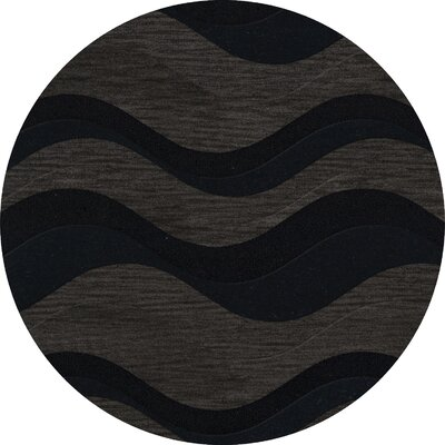 Hambrook Wool Shadow Area Rug Rug Size: Octagon 8
