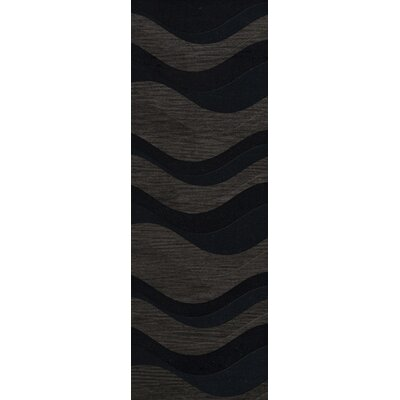 Hambrook Wool Shadow Area Rug Rug Size: Runner 2'6