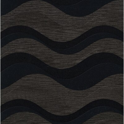 Hambrook Wool Shadow Area Rug Rug Size: Square 12