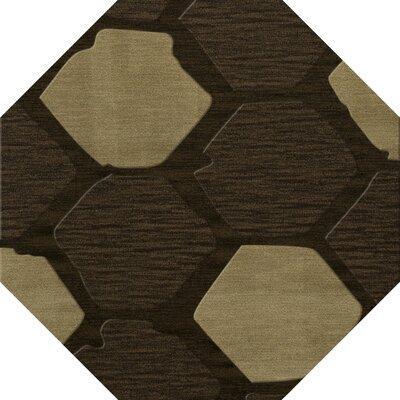 Hanover Wool Fennel Area Rug Rug Size: Octagon 8