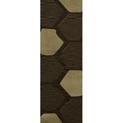 Hanover Wool Fennel Area Rug Rug Size: Runner 26 x 12