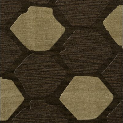 Hanover Wool Fennel Area Rug Rug Size: Square 4