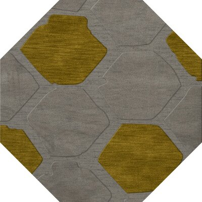 Harman Wool Flagstone Area Rug Rug Size: Octagon 4