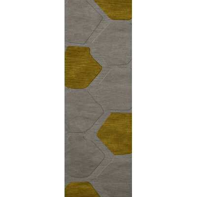 Harman Wool Flagstone Area Rug Rug Size: Runner 26 x 10