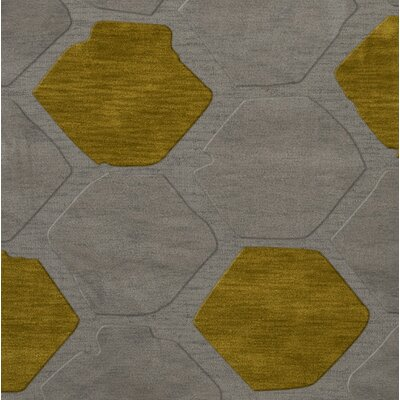 Harman Wool Flagstone Area Rug Rug Size: Square 8