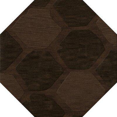 Harmonia Wool Nutmeg Area Rug Rug Size: Octagon 4