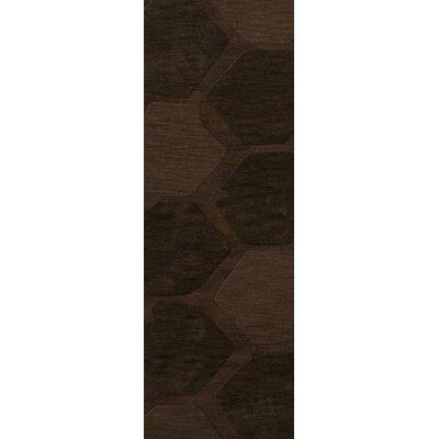 Harmonia Wool Nutmeg Area Rug Rug Size: Runner 26 x 10