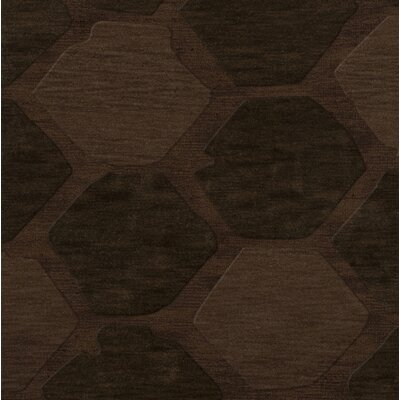 Harmonia Wool Nutmeg Area Rug Rug Size: Square 10