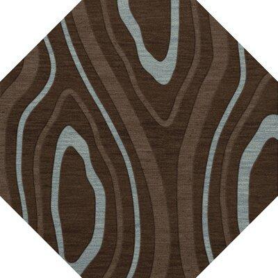 Sarahi Wool Cork Area Rug Rug Size: Octagon 12