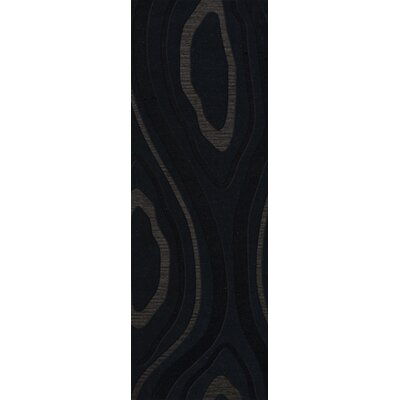 Ireland Wool Pepper Area Rug Rug Size: Runner 26 x 8