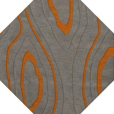 Sarahi Wool Zinc Area Rug Rug Size: Octagon 6