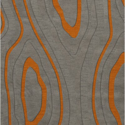 Sarahi Wool Zinc Area Rug Rug Size: Square 10