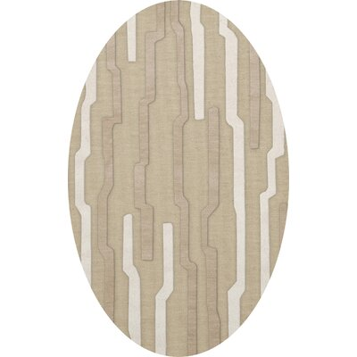 Hartsdale Wool Chopstick Area Rug Rug Size: Oval 10 x 14