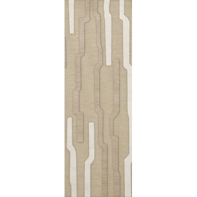 Hartsdale Wool Chopstick Area Rug Rug Size: Runner 26 x 8