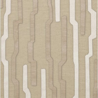 Hartsdale Wool Chopstick Area Rug Rug Size: Square 4