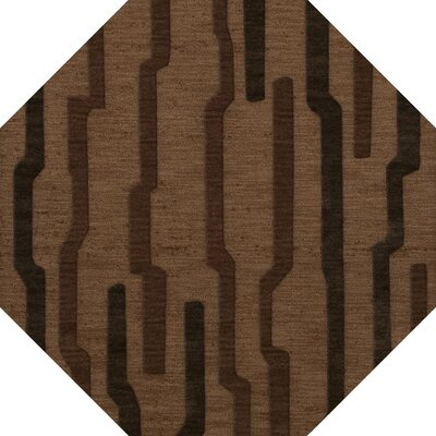 Hartranft Wool Clove Area Rug Rug Size: Octagon 6
