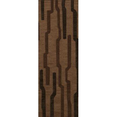 Hartranft Wool Clove Area Rug Rug Size: Runner 26 x 12