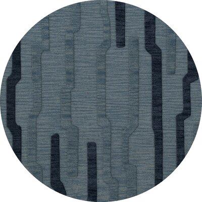 Hashimoto Wool Saltwater Area Rug Rug Size: Round 8