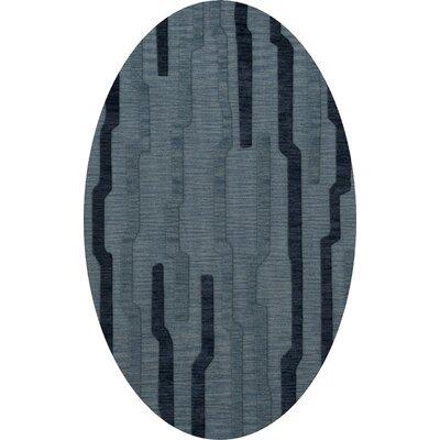 Hashimoto Wool Saltwater Area Rug Rug Size: Oval 5 x 8