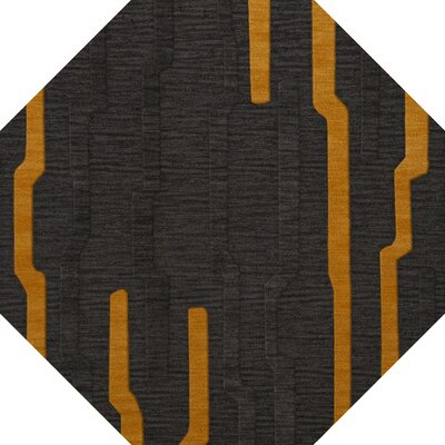 Haskett Wool Seal Area Rug Rug Size: Octagon 8