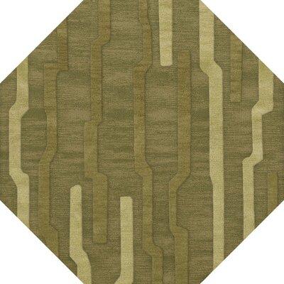 Haslett Wool Tarragon Area Rug Rug Size: Octagon 4