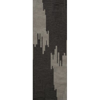 Hasse Wool Chinchilla Area Rug Rug Size: Runner 26 x 8