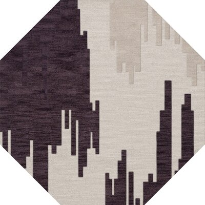Hassell Wool Royalty Area Rug Rug Size: Octagon 12
