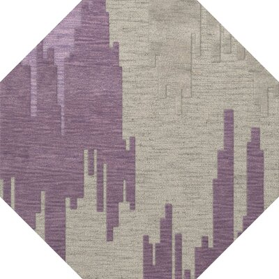 Haslett Wool Thistle Area Rug Rug Size: Octagon 6