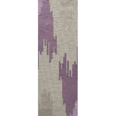 Haslett Wool Thistle Area Rug Rug Size: Runner 26 x 10