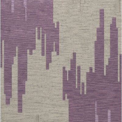 Haslett Wool Thistle Area Rug Rug Size: Square 6