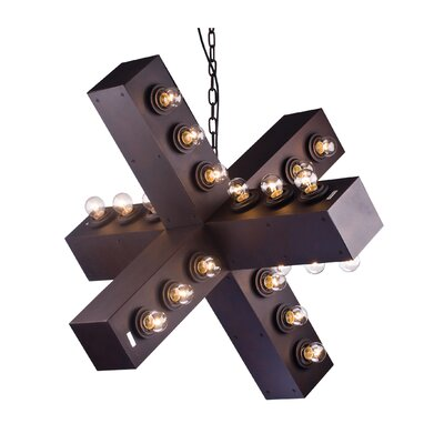 Peavler 36-Light Geometric Pendant