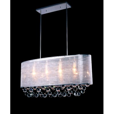 Uxbridge 5-Light Crystal Chandelier