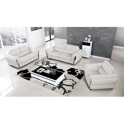 Henke 3 Piece Living Room Set