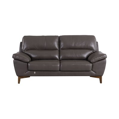 Stengel Leather Loveseat