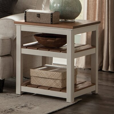 Gilmore 2 Shelf End Table