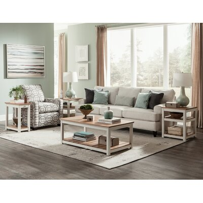 Gilmore 3 Piece Solid Wood Coffee Table Set