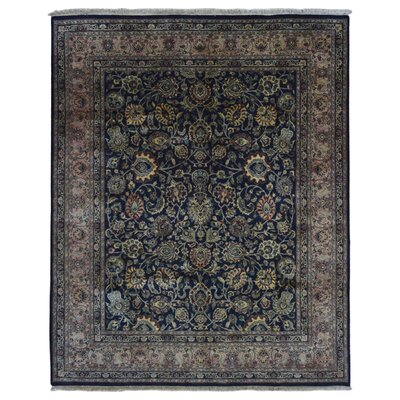 One-of-a-Kind Benningfield Oriental Hand-Knotted Wool Red Area Rug
