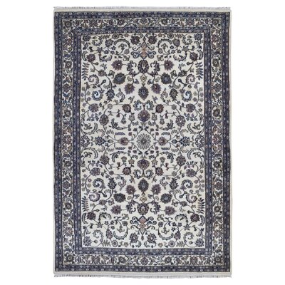 One-of-a-Kind Benelva Hand-Woven Wool Green Area Rug