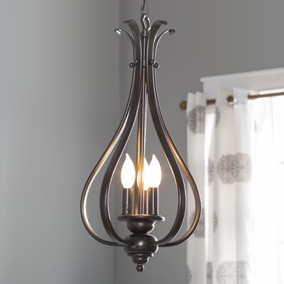 Enfield 3-Light Foyer Pendant Finish: Royal Bronze