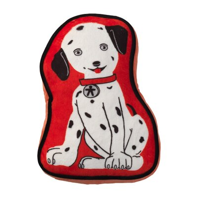 Firefighter Dog Throw Pillow