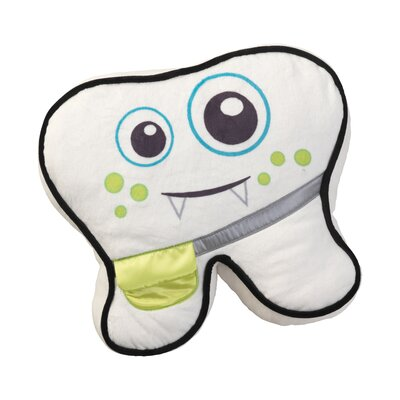 Lil Monster Tooth Fairy Throw Pillow